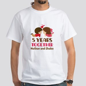 5th Anniversary 5 Years Together T-Shirt