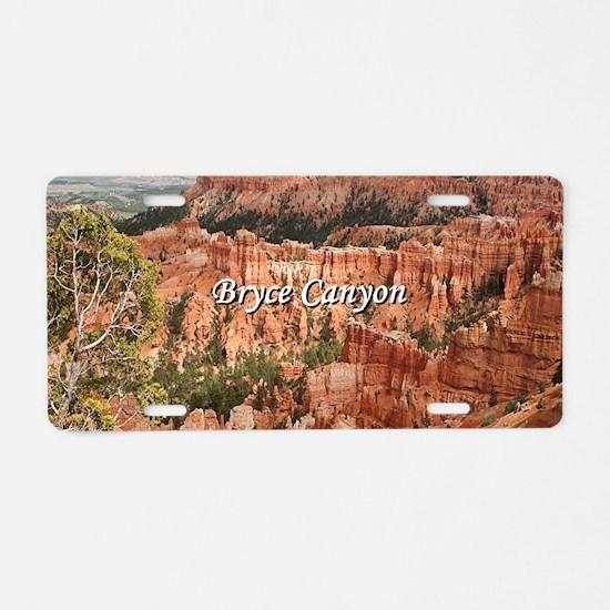 Bryce Canyon, Utah 20 (capt Aluminum License Plate