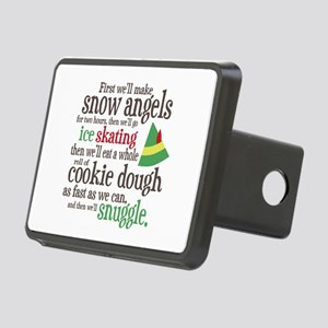 Elf Snuggle Rectangular Hitch Cover