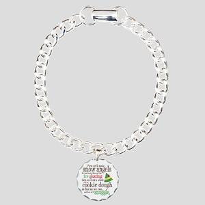 Elf Snuggle Charm Bracelet, One Charm