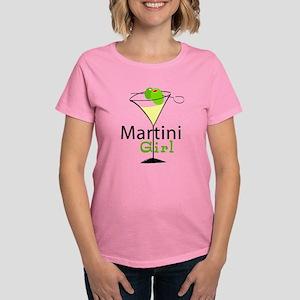 Martini Girl Women's Dark T-Shirt