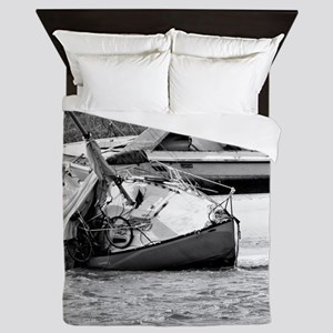 Shipwrecked Queen Duvet