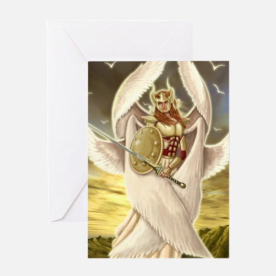 Seraph Angel Greeting Cards