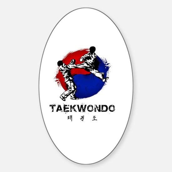 Cute Korea Sticker (Oval)