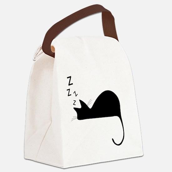 Unique Sleep Canvas Lunch Bag