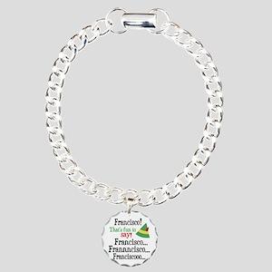 Elf Francisco Charm Bracelet, One Charm