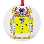 Marciano Round Ornament