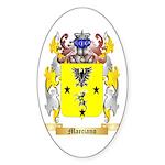 Marciano Sticker (Oval 10 pk)