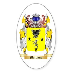 Marciano Sticker (Oval 50 pk)