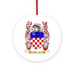 Marcia Round Ornament