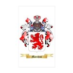 Marchisi Sticker (Rectangle 50 pk)