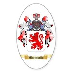 Marchisello Sticker (Oval)