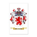 Marchisello 35x21 Wall Decal