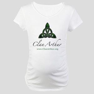 Clan Arthur Celtic Knot Maternity T-Shirt