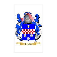 Marchini Sticker (Rectangle 50 pk)