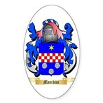 Marchini Sticker (Oval 10 pk)