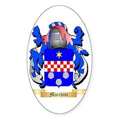 Marchini Sticker (Oval 50 pk)