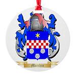 Marchin Round Ornament