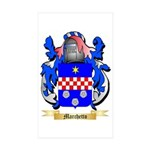 Marchetto Sticker (Rectangle 50 pk)