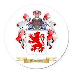 Marchetti Round Car Magnet