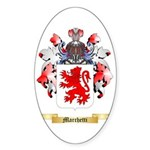 Marchetti Sticker (Oval 10 pk)