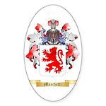 Marchetti Sticker (Oval 50 pk)