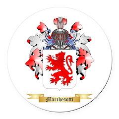 Marchesotti Round Car Magnet