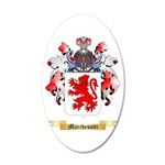 Marchesotti 20x12 Oval Wall Decal