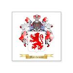 Marchesoni Square Sticker 3