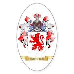 Marchesoni Sticker (Oval 10 pk)