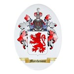Marchesoni Oval Ornament