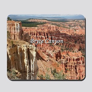 Bryce Canyon, Utah 21 (caption) Mousepad