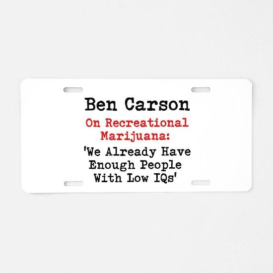 Ben Carson on Recreational Marijuana We Already Ha