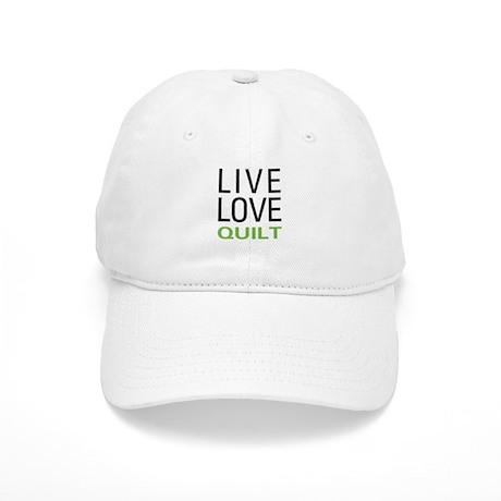 Live Love Quilt Cap