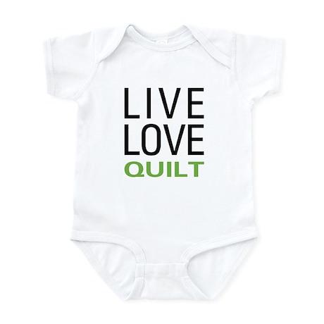 Live Love Quilt Infant Bodysuit