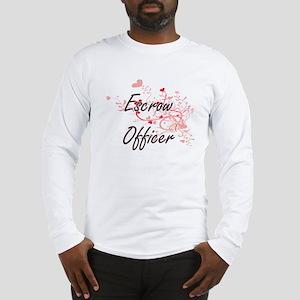 Escrow Officer Artistic Job De Long Sleeve T-Shirt