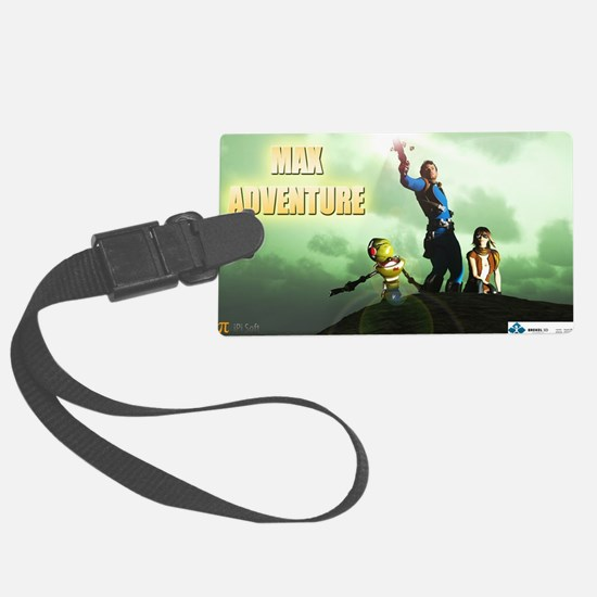 Cute Fantasy and scifi and anime Luggage Tag