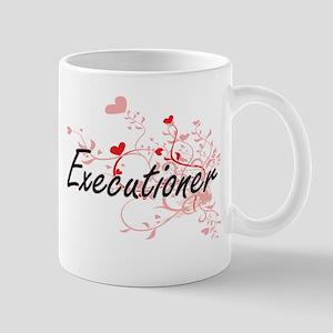Executioner Artistic Job Design with Hearts Mugs