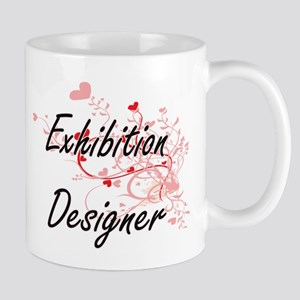 Exhibition Designer Artistic Job Design with Mugs