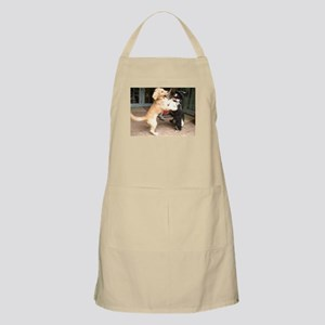 dogs playing Apron