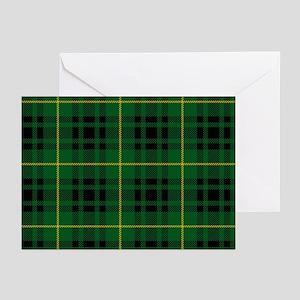 Clan Arthur - Just Tartan Greeting Cards. Pk of 10