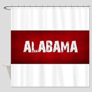 Alabama Crimson Tide Football Shower Curtains