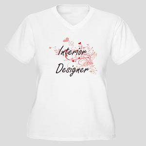 Interior Designer Artistic Job D Plus Size T-Shirt