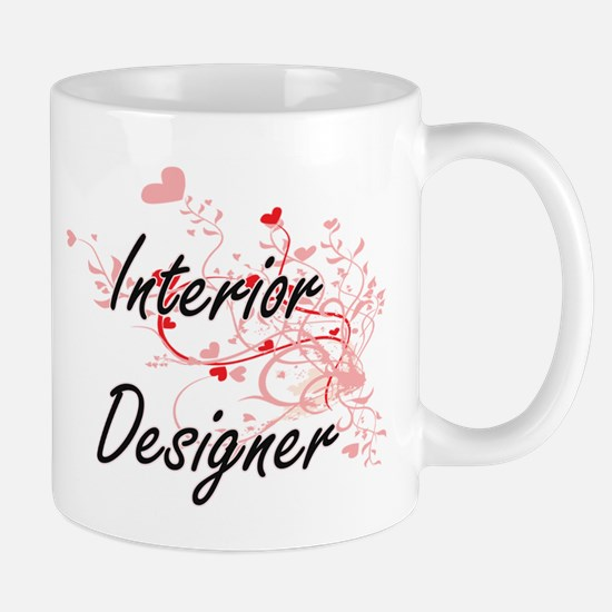 Interior Designer Artistic Job Design with He Mugs