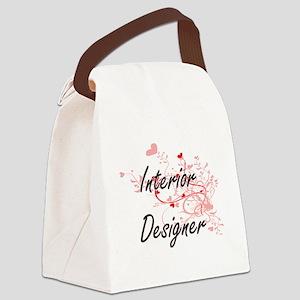 Interior Designer Artistic Job De Canvas Lunch Bag