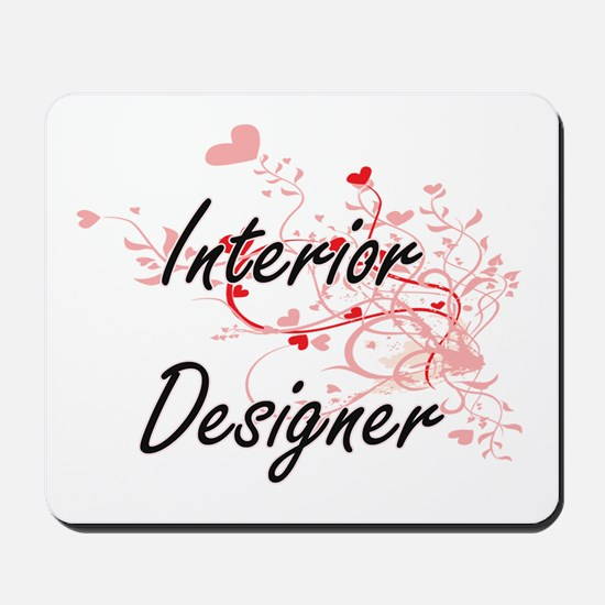 Interior Designer Artistic Job Design wi Mousepad