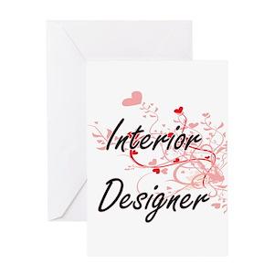 Interior design greeting cards cafepress m4hsunfo
