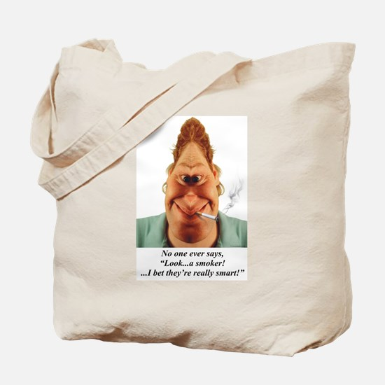 Funny Antismoking Tote Bag