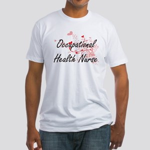 Occupational Health Nurse Artistic Job Des T-Shirt