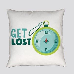 get lost Everyday Pillow